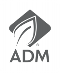 ADM Logo with white outline