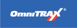 Omnitrax Logo on blue background